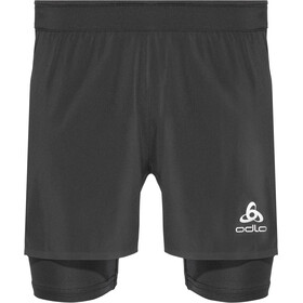 Odlo Zeroweight Ceramicool PRO 2 in 1 Shorts Men black-black